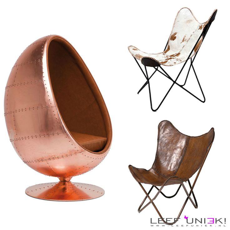 Leef Uniek | Nieuws | Fauteuil *Deze vlinderstoel is een echte eyecatcher in je woonkamer!*
