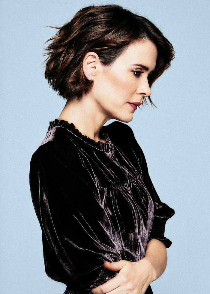 Sarahpaulson Short Hair Styles Hair Styles Hairstyle