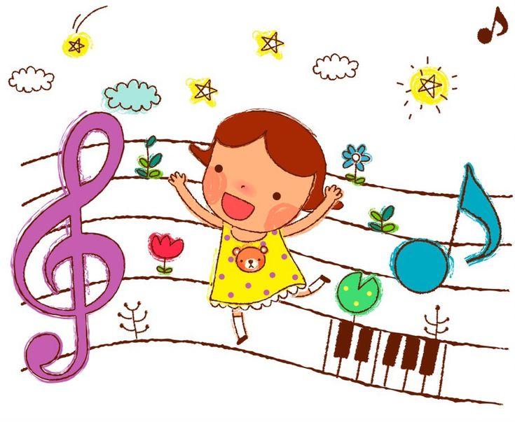 Музыка картинки для презентации детские