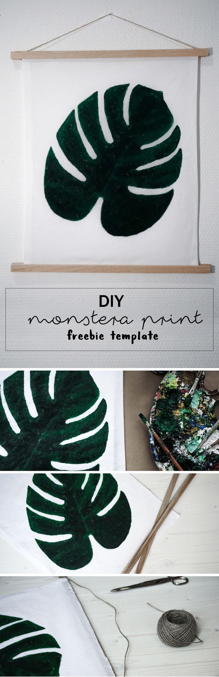 59 best DIY Monstera & Co images on Pinterest | Bricolage, Creative ...