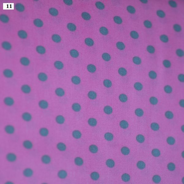 Printed poplin - Color Dots