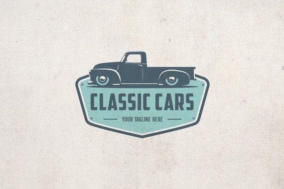 Classic Cars – Vintage Logo – Retro Cars – Emblem Logo – Business Branding – Custom Logo