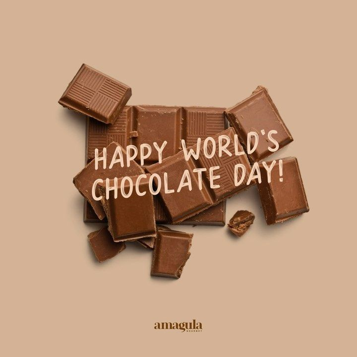 Happy World S Chocolate Day Chocolate Day Chocolate Candy