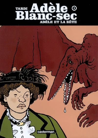 The extraordinary adventures of Adele Blanc-Sec by Jacques Tardi. Hubby bought me the movie and I want all the books!