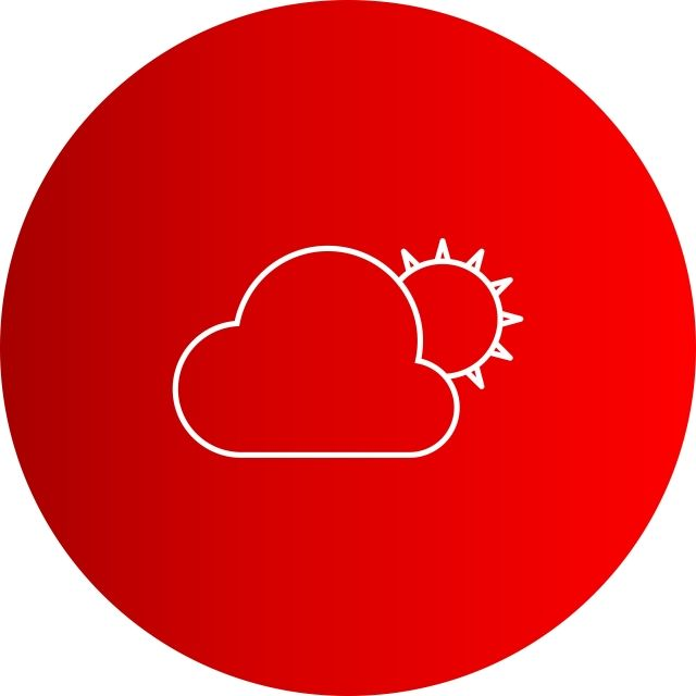 Vector Sun And Cloud Icon Cloud Icons Sun Icons Cloud Png And Vector With Transparent Background For Free Download Cloud Icon Sun And Clouds Farm Logo Design