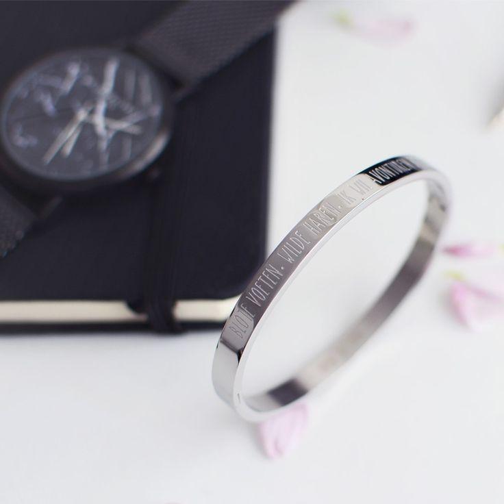 My Jewellery Armband Blote Voeten Wilde Haren - Silver