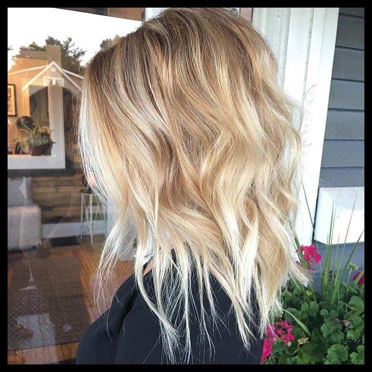 10 meilleures coiffures moyennes pour les femmes – Ajouter un peu de blonde à …   Sch ร …