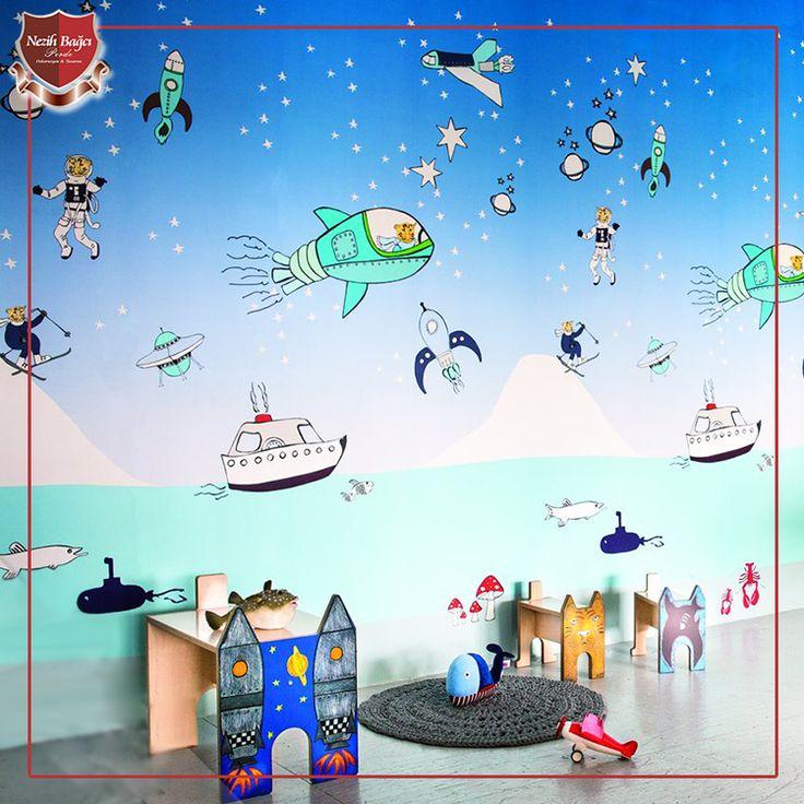 Renkli çocuk odaları ile sıradanlığa son! Renkli çocuk odaları ile çocuklarınızı masal alemine götürebilir, onların hayal gücünün gelişmesine yardımcı olabilirsiniz. www.nezihbagci.com / +90 (224) 549 0 777 ADRES: Bademli Mah. 20.Sokak Sirkeci Evleri No: 4/40 Bademli/BURSA #nezihbagci #perde #duvarkağıdı #wallpaper #floors #Furniture #sunshade #interiordesign #Home #decoration #decor #designers #design #style #accessories #hotel #fashion #blogger #Architect #interior #Luxury #bursa…
