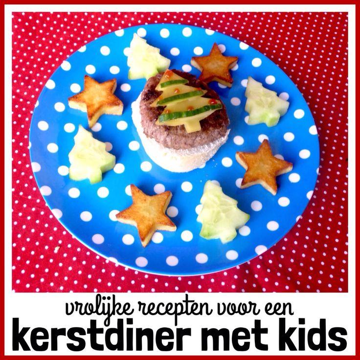 ★ Vrolijk kerstdiner: recepten voor een driegangen kerstmenu voor kinderen ★ #kerst #kerstmis #kerstdiner #kids #leukmetkids