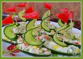 Resultado de imagen para tallado de frutas y verduras animales