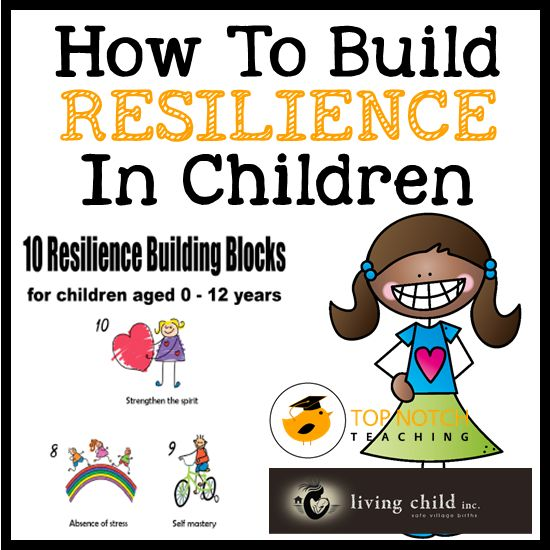 The modern world is more challenging than ever, here are ideas on how you can help children cope with the ever changing world and help build their resilience.