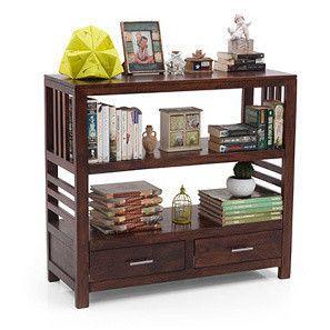 Carnegie Bookshelf/Display Unit (Walnut Finish)