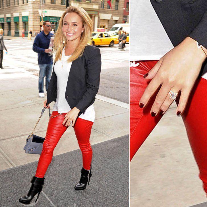 Pin for Later: Die schönsten Eheringe der Stars Hayden Panettiere Wladimir Klitschko verlobte sich mit Hayden im Jahr 2013.