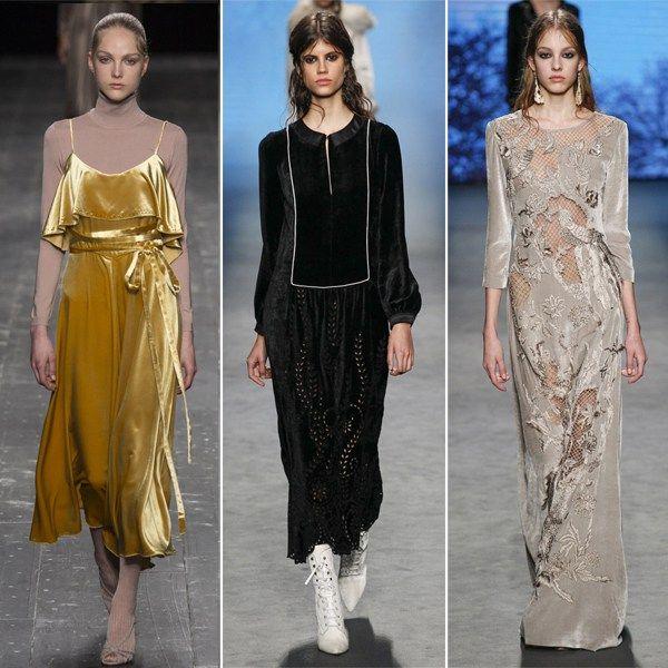 #velvet_dress #dress #velvet_dress_outfit Бархатный сарафан от Valentino бархатные платья от Alberta Ferretti 2016-2017