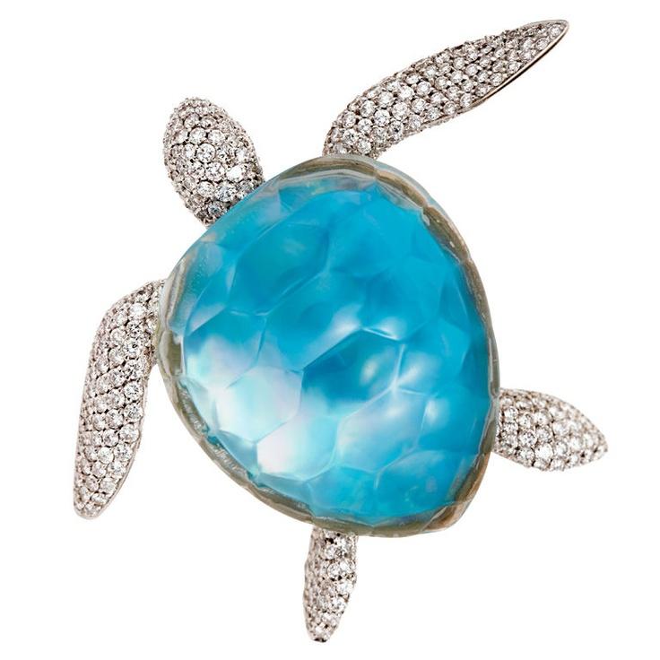 Vhernier Turtle Brooch