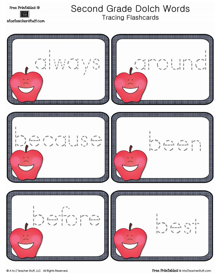 It's just a picture of Delicate 2nd Grade Sight Words Printable