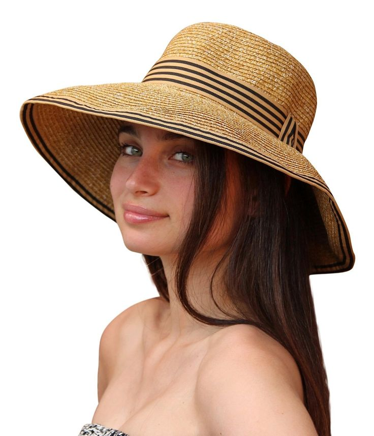 Palms & Sand Napa Women's Sun Hat with UV Protection (Natural)