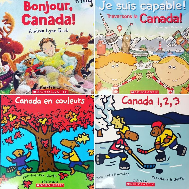 """40 Likes, 1 Comments - Laura King (@kindergartenteachertired) on Instagram: """"Célébrons la fête du Canada! 🇨🇦 Here are some of our favourite #canadaday read-alouds to get…"""""""
