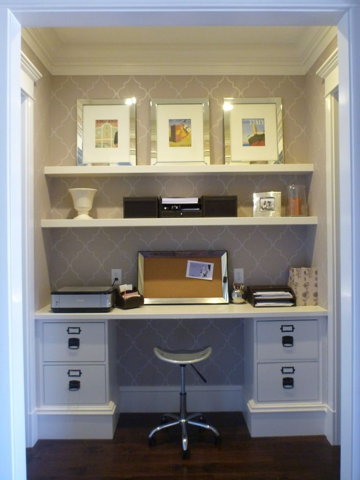 Incredible home office (mine!) and DIY tutorial on how it was constructed.