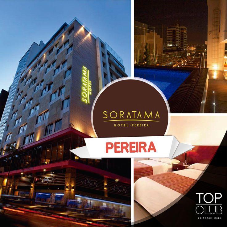 Con una ubicación excepcional en el corazón de #Pereira, el Hotel Soratama está rodeado de los principales centros empresariales, comerciales y gastronómicos de la Ciudad. Ven y disfrútalo con tu tarjeta #TopClub y recibe grandes descuentos en alojamiento y alimentos. http://www.topclub.co/eventos/hotel-soratama-pereira/ Hotel Soratama de Pereira #Ahorro #Descuento #Soratama