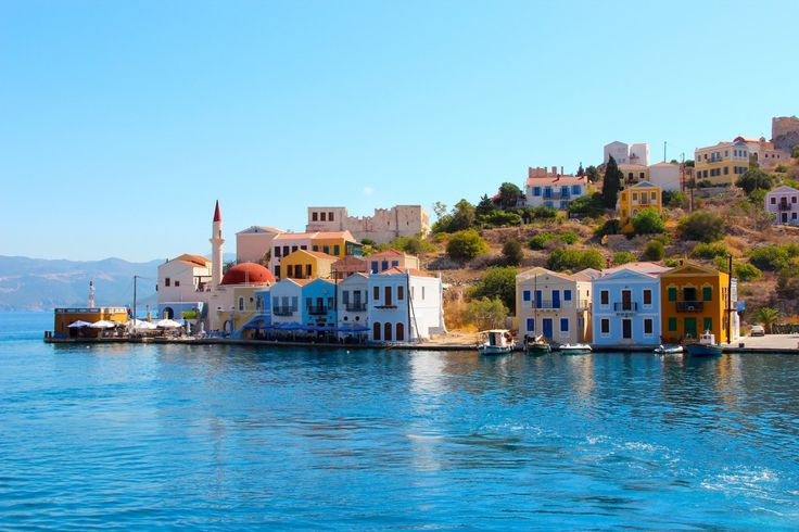 The colourful Greek island of Meis/ Kastellorizo http://gallivantgirl.com