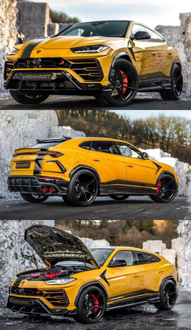 "Yellow ""Ragging Bull"" With Sharpened Horns – Lamborghini Urus 815 HP!"