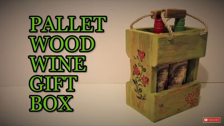 Palletwood Wine Gift Box