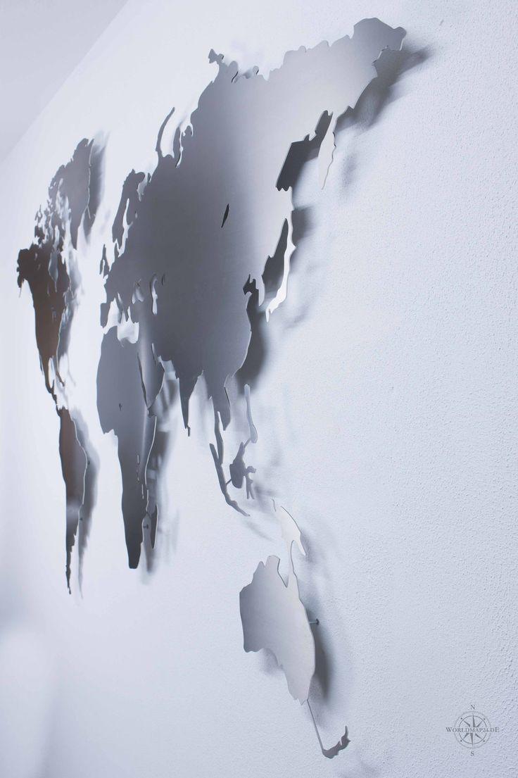 47 best Weltkarten für die Wand by www.worldmap24.de images on Pinterest