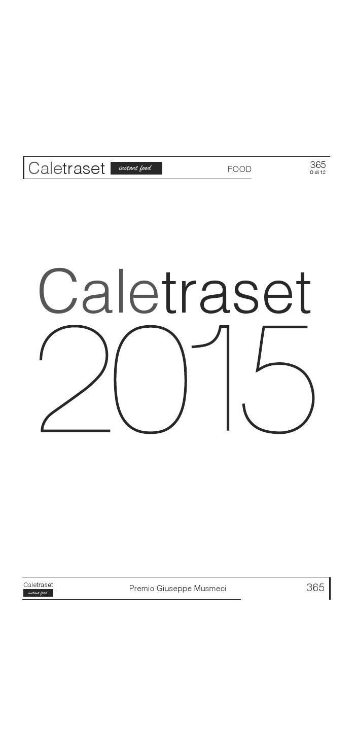 N 15  Premio Giuseppe Musmeci - Calendario 2015 - Expo 2015 - Lavoro selezionato dalla Giuria - ACSG - acsg.it