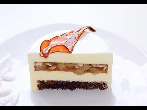 Муссовый грушевый торт / Pear Mousse Cake - YouTube