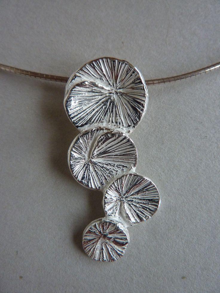Art clay silver pendant                                                                                                                                                     More