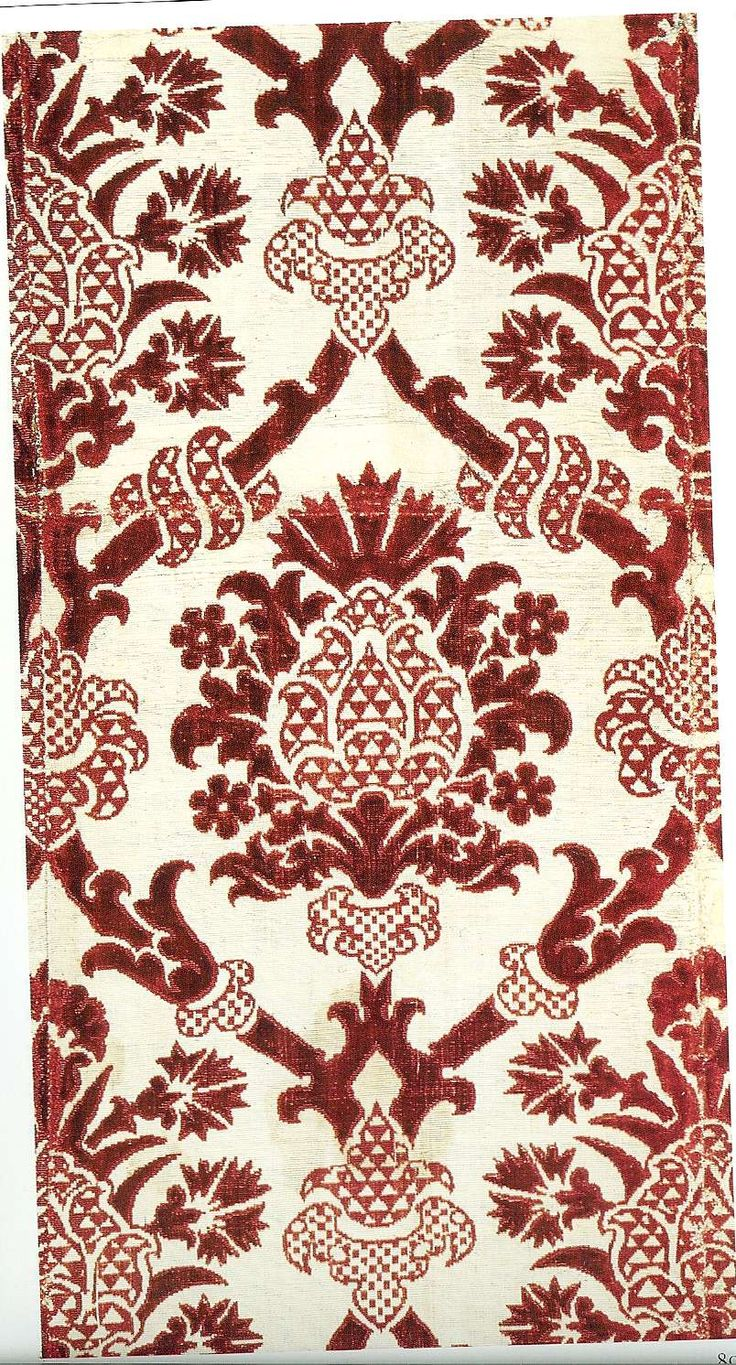 Ciselé velvet, realized on leather too, italian late 16th/early 17th century