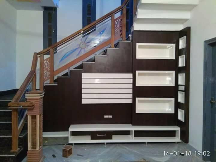 Step Side Lcd Panel Design Lcd Wall Design Wall Tv Unit Design