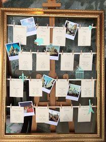Paris themed wedding - Tableau de mariage - matrimonio a tema Parigi