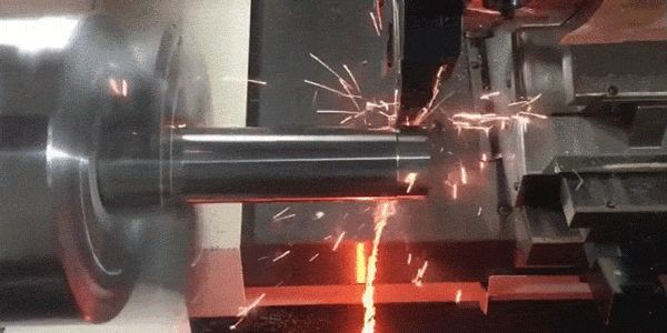 Tungsten Rod + Lathe = Endless River of Fire