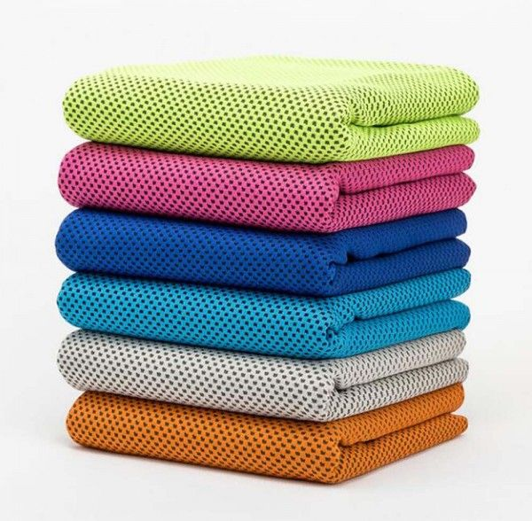 Solid Color Gym Wipes Sweat Towel Practical Quick Drying Towel