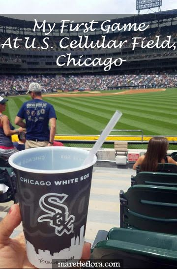 Floradise: My First Chicago White Sox Game + printable baseball stadium check list