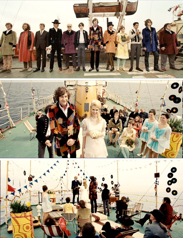 I want to have a 60s themed party where people actually dress fantastic and the music is grand and we can pretend its pirate radio that we're listening to.