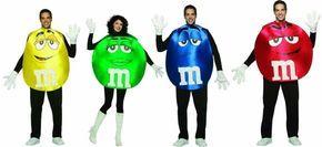 Karnevalskostüme für Paare oder Gruppen - M & M's