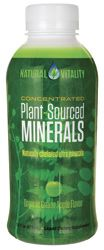 Natural Vitality Plant-Sourced Minerals Liquid - Green Apple Flavor 16 fl oz Liquid - Swanson Health Products