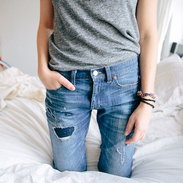 .@madewell1937 | thread count / our slim boyjean rip-and-repair edition #denimmadewell | Webstagram