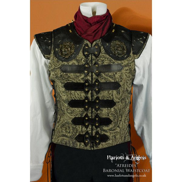 Mens Steampunk Vest Waistcoat Sewing pattern. PDF. Prints on USA... ($15) ❤ liked on Polyvore featuring men's fashion, men's clothing, men's outerwear, men's vests, mens long vest, mens vests outerwear, mens steampunk vest, mens vest and mens outerwe