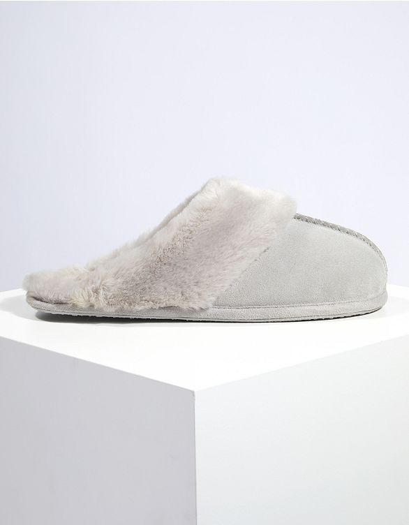 e908f26adda6b Suede Mules Slippers in 2018 | Emma's Autumn / winter wish list | Pinterest  | Slippers, Slipper socks and Fall winter