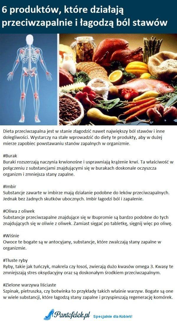 6 produktów, które działają przeciwzapalnie i łagodzą ból stawów