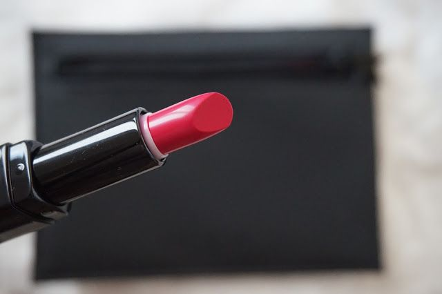 Rouge à lèvres lipstick rouge interdit fuschia in know Givenchy (Revue avis swatches)