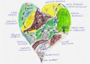 Atlasul inimilor – activitate creativa despre emotii