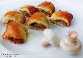 Mish Mash Mission: Wigilijne kapuśniaczki, czyli przepis na paszteciki z kapustą i grzybami