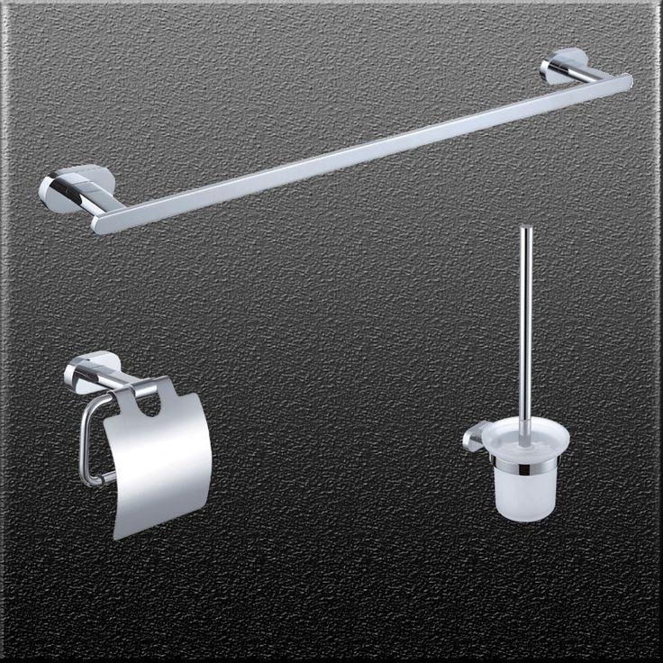 Аксессуары для ванной комнаты одного вешалка для полотенец держатель для туалетной щетки и держатель для бумаги chorm ванна аксессуары