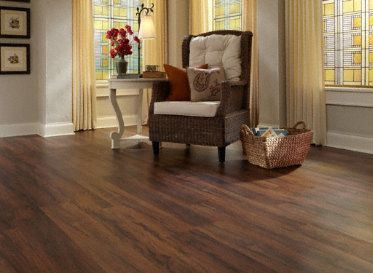 Dark and rich Tranquility Lake Fork Creek Cedar Click Resilient Vinyl: Lake Fork, Vinyl Wood Flooring, Cedar Vinyl, Best Vinyl Flooring, Fork Creek, Improvement, Creek Cedar, Photo, Vinyls Flooring