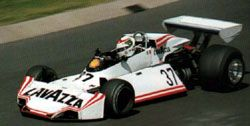 Lella Lombardi unsuccessfully tries to qualify   one of RAM Racing's Brabham BT44Bs for   the 1976 German Grand Prix.
